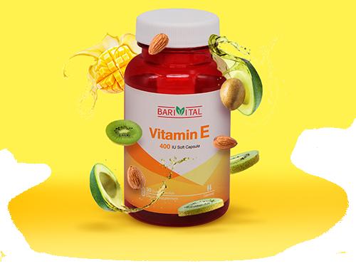 کپسول نرم ویتامین E